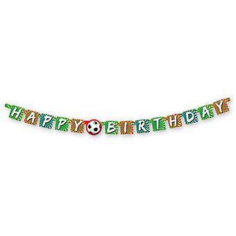Sportslige mål Happy Birthday brev pendul