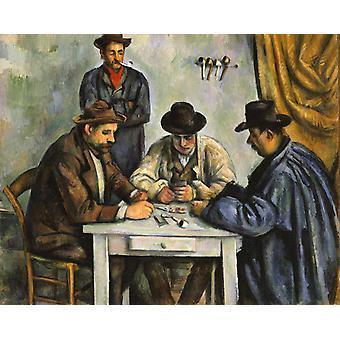 The Card Players, Paul Cezanne, 50x40cm