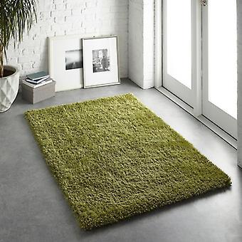 Alfombras Chicago oliva rectángulo alfombras llano casi llanos