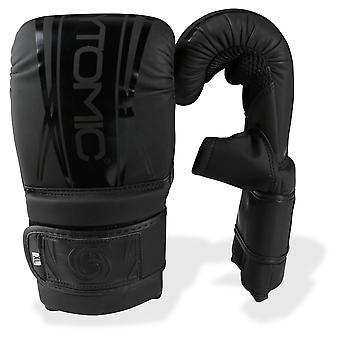 Eje bytomic V2 bolsa guantes negro/negro