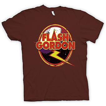 Мужская футболка - Флэш Гордон логотип - Sci Fi
