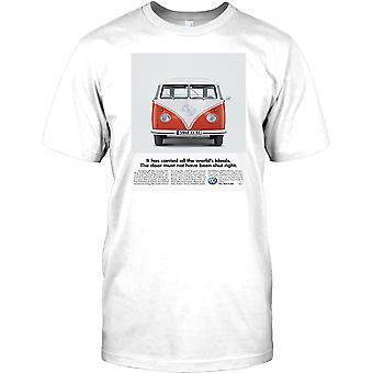 VW Camper Retro annons affisch - Cool Kids T Shirt