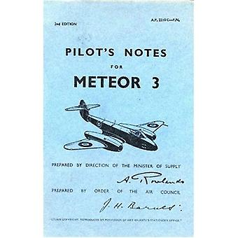 Meteor 111  Pilots Notes