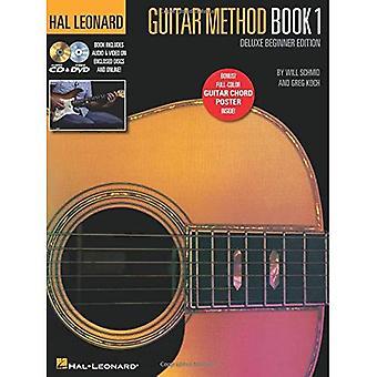 Koch/Schmid Hl kitara menetelmä kirja 1 Deluxe aloittelija Ed Bk/Online-Media