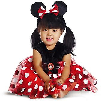 Red Minnie Mouse Toddler Costume
