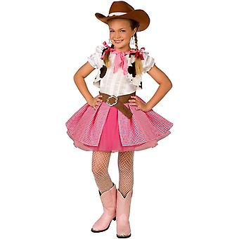 Pretty Cowgirl Child Costume
