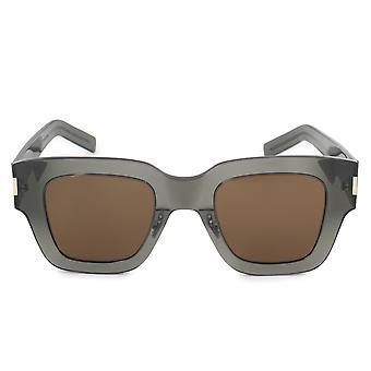 Saint Laurent Square Sunglasses SLIM SL 184 004 48
