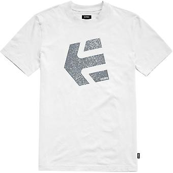 Etnies Logomania Kurzarm T-Shirt in weiß