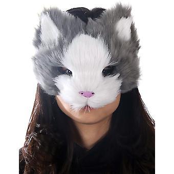 Gray Kitty Mask