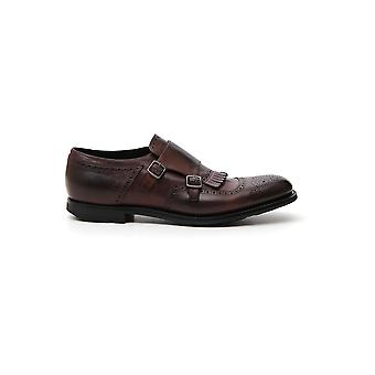 Church's Eog0099mof0axo Men's Brown Leather Monk Strap Shoes