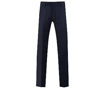 Dobell męskie marynarki Spodnie garniturowe Slim Fit Travel/wydajność