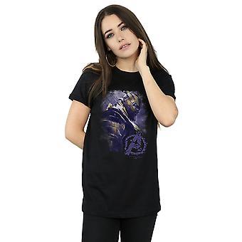 Marvel Women's Avengers Endgame Thanos Brushed Boyfriend Fit T-Shirt