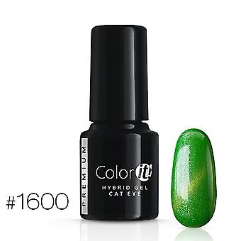 Gellack-Color IT-Premium-Cat Eye-* 1600 UV gel/LED