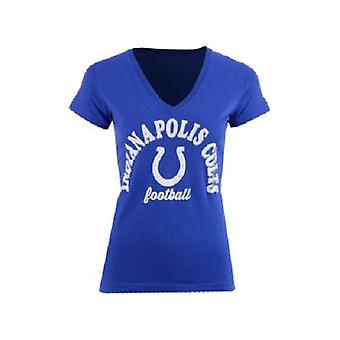Indianapolis Colts NFL Women's Checkdown T-Shirt