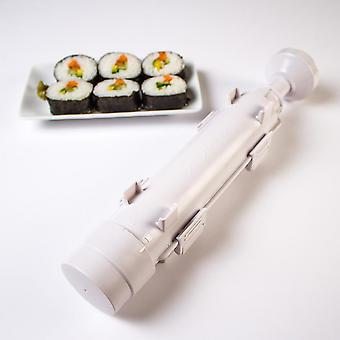 Sushi Maker Bazooka For The Perfect Sushi! Made Of Plastic White 30 X 6 X 6 Cm - For Beginners And Experts !