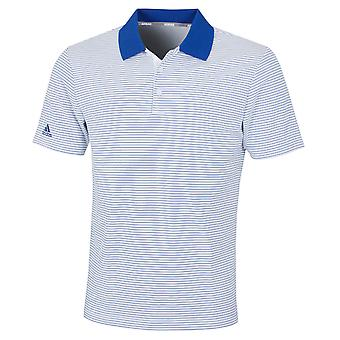 adidas Golf Mens 2021 Club Merch Stripe Wicking Performance Polo Shirt