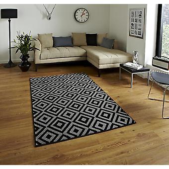 Teppiche - Mantra MT89 - grau & schwarz