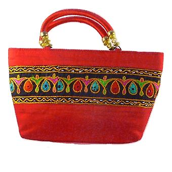 Silk Handbag Divya 04 Silk Sauvage at Pashmina & Silk