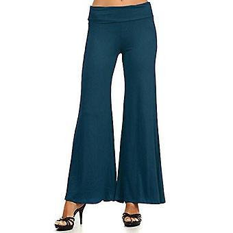 Dbg women's women's palazzo wide leg rayon pants