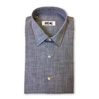 Ingram shirt in grey/blue/purple