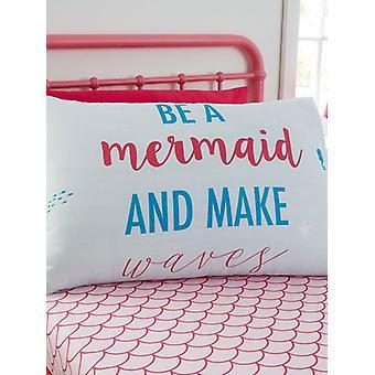 Jednolůžkový list Mermaid a sada Pillowcase