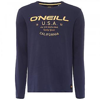 O ' Neill LM Olsen långärmad T-shirt, bläck blå