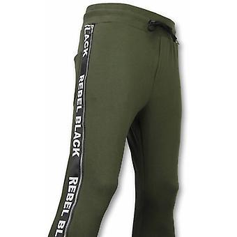 Casual jogging shorts-Rebel svart-khaki