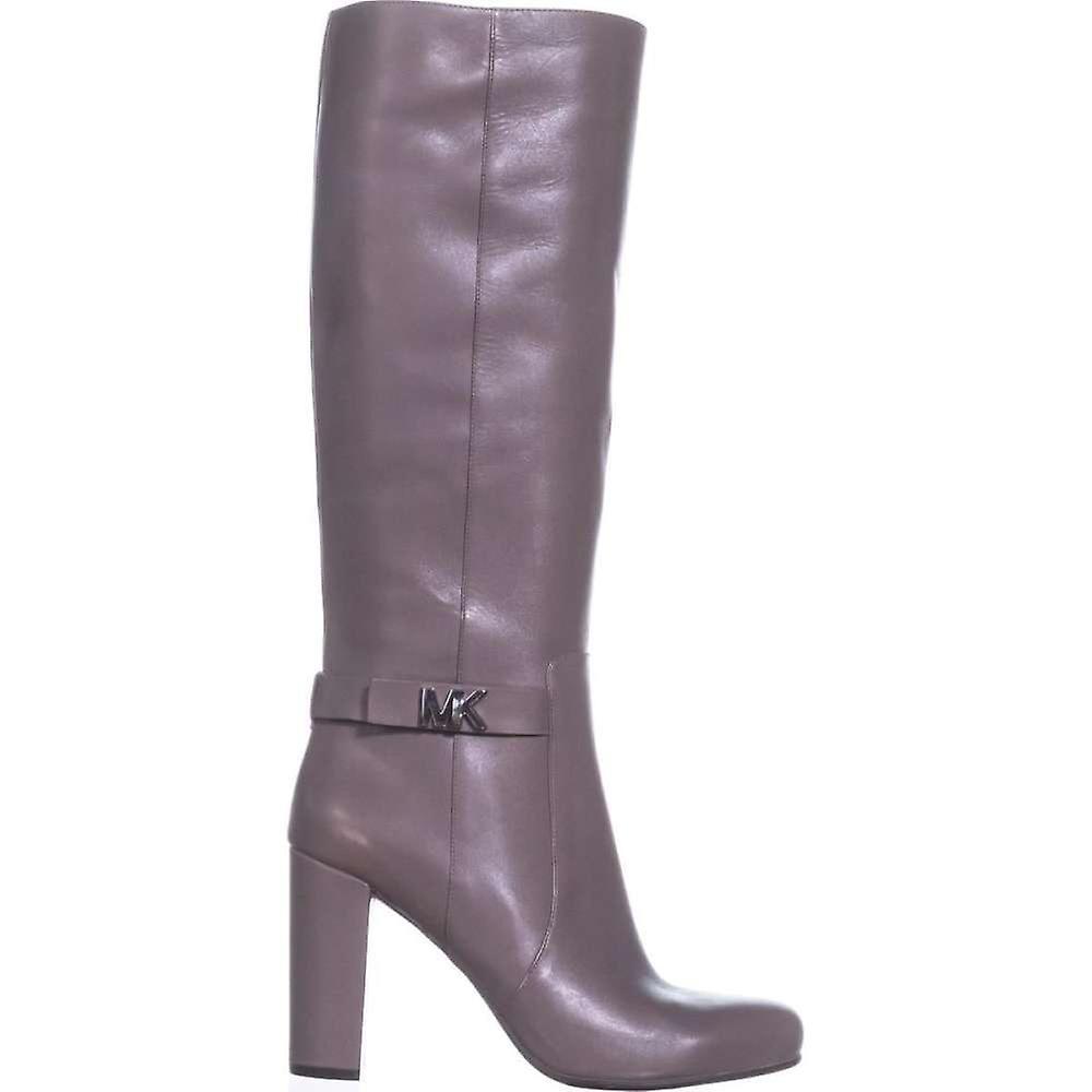 Michael Kors damskie Julianna Boot skórzane zamknięte toe Mid-Calf Fashion Buty daRcx