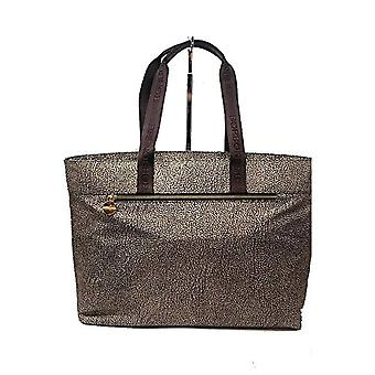 Borbonese Shopping Large Bag Tote Women (Op Classico/Brown) 41x30x16 cm (W x H x L)