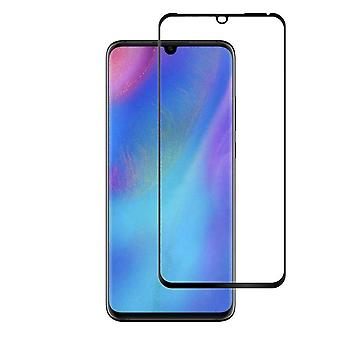 Screen Protector Tempered Glass Curved Huawei P30 Pro transparent Black (Half Glue)