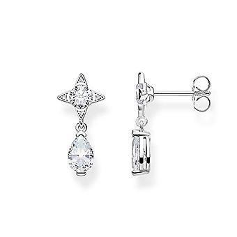 THOMAS SABO Women Silver Stud Earrings H2087-051-14