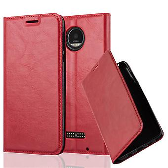 Case for Motorola MOTO Z Foldable Phone Case - Cover - with Stand Function and Card Tray