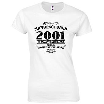 18 års fødselsdag gaver til kvinder hendes fremstillet 2001 T shirt