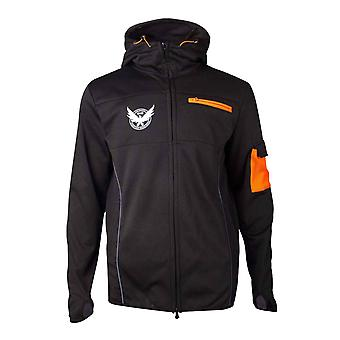 The Division Hoodie M65 Operative Logo new Official Mens Black Zipped