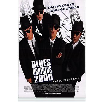 Blues Brothers 2000 (1998) alkuperäinen elokuva juliste
