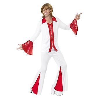 Mens Super Trooper maschio Fancy Dress Costume