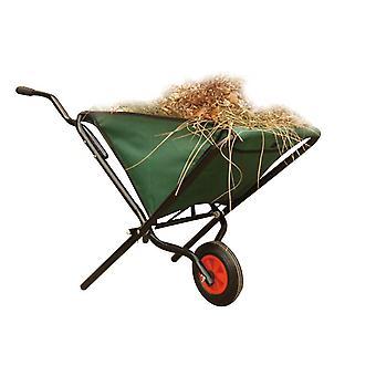 Charles Bentley Garden Cart Wheelbarrow Hand Truck Lightweight Folding 50kg