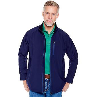 Pegasus Mens Water Resistant Bonded Fleece Jacket