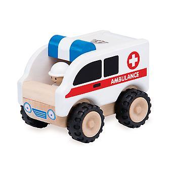 Wunderwelt aus Holz Krankenwagen
