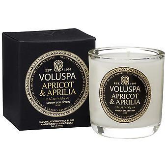 Voluspa Classic Maison Boxed Votiv Kerze Aprikosen & Aprilia 85g