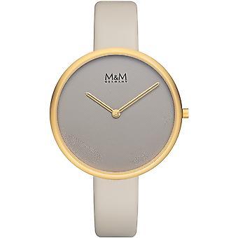 M & M Alemania M11954-818 Flat design Ladies Watch