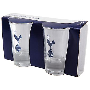 Tottenham Hotspur FC Official Football Crest Shot Glass (Pack Of 2)