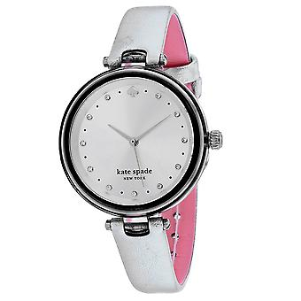 Kate Spade Mujeres's Holland Silver Dial Watch - KSW1516