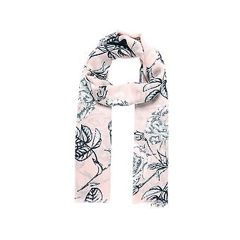 Intrigue Womens/Ladies Sketch Rose Print Scarf