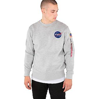 Alpha Industries Space Shuttle Sweatshirt Grey 06