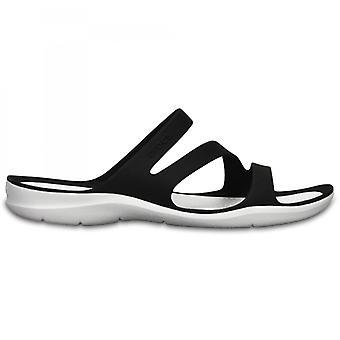Crocs 203998 Swiftwater Sandals Dames Sandales Noir/Blanc