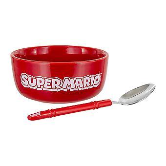 Super Mario Breakfast Bowl Set - Gaming Merchandise