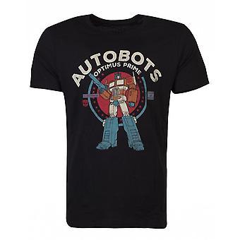 Official Transformers Optimus Men's T-shirt