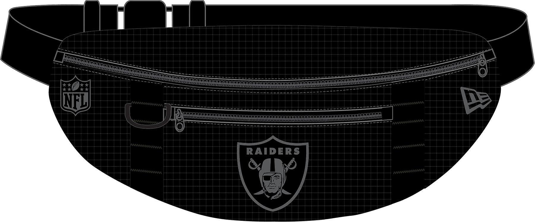 New Era NFL Lightweight Waist Bag ~ Oakland Raiders black