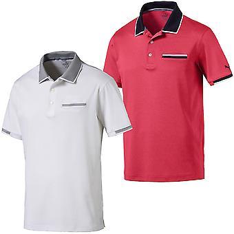 Puma Golf Herren PWRCool Adapt gefesselt Tasche dryCELL Polo Shirt Top